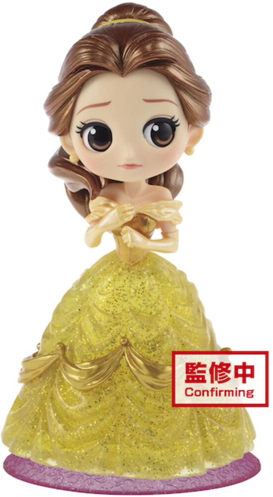 Banpresto - BanPresto - Disney Belle Q posket Glitter Figure