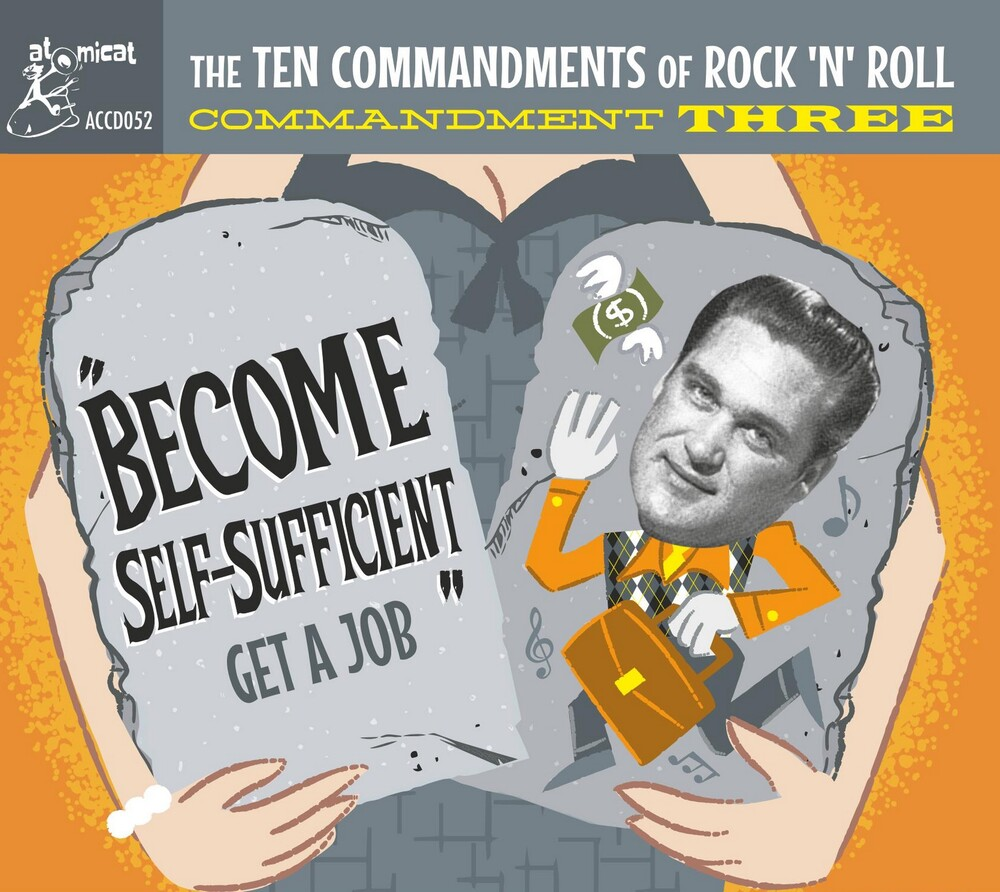 Ten Commandments Of Rock n Roll 3 / Various - Ten Commandments Of Rock 'n' Roll 3 (Various Artists)