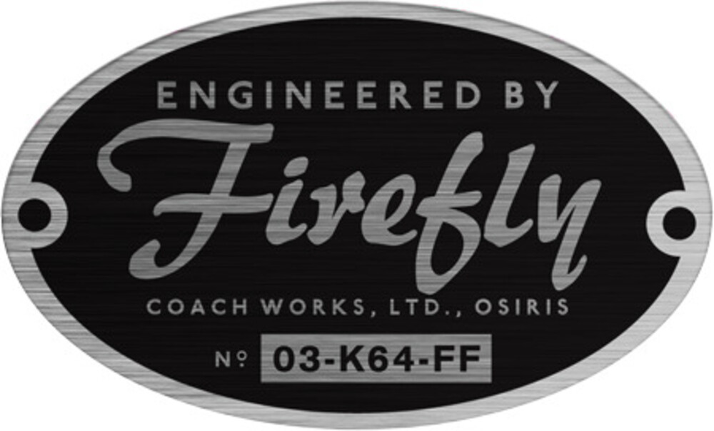 Firefly - Engineered by Firefly Sticker - Quantum Mechanix - Firefly - Engineered by Firefly Sticker