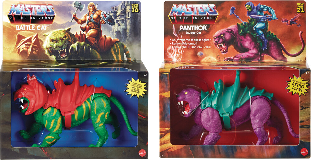 "Masters Of The Universe - Mattel Collectible - Masters of the Universe Origins 5.5"" Creature Assortment (He-Man, MOTU)"