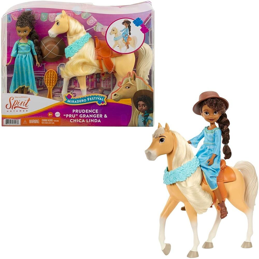 Spirit - Mattel - Spirit Festival Doll & Horse Pru and Chica Linda