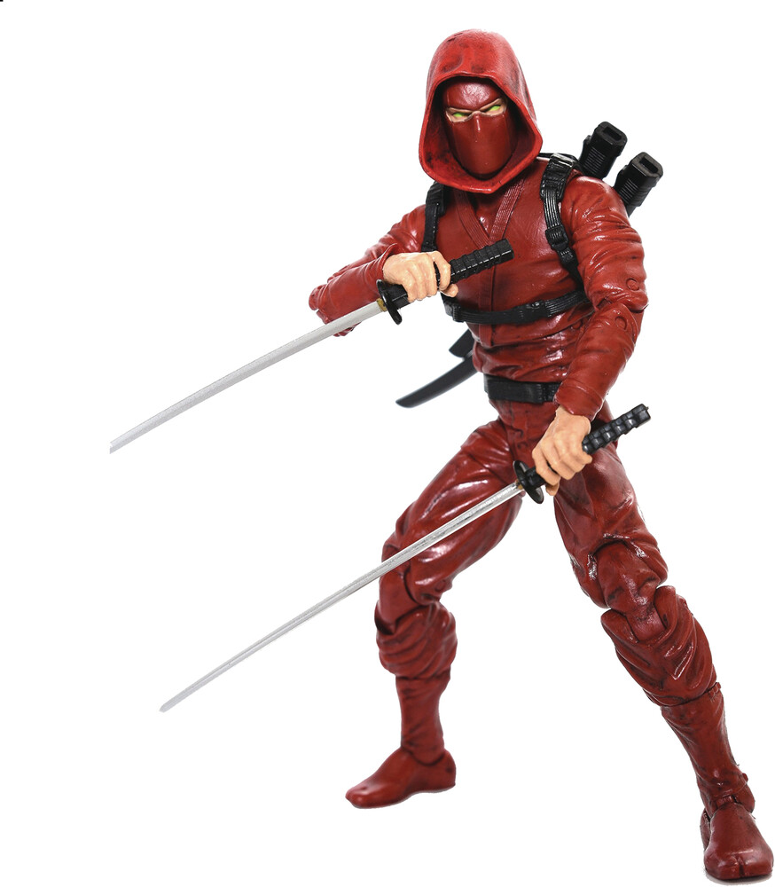 Fwoosh - FWOOSH - Articulated Icons Clan Of The Crimson Fury Ninja 6 ActionFigure (Net)