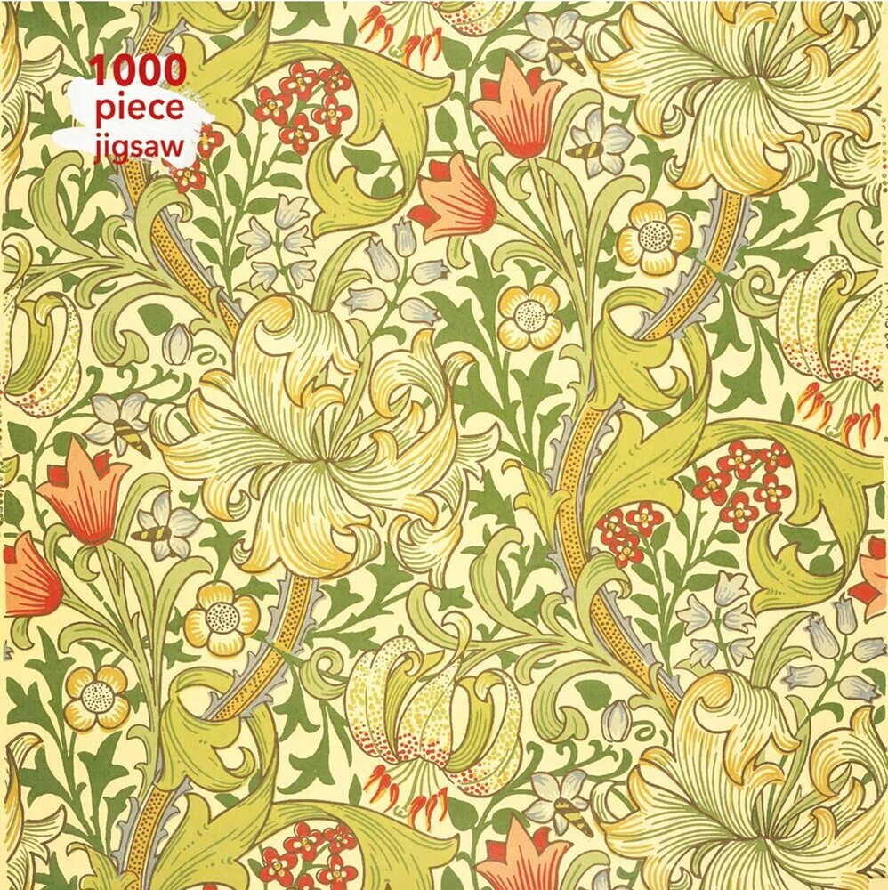 Flame Tree Studio - William Morris Gallery Golden Lily 1000 Piece