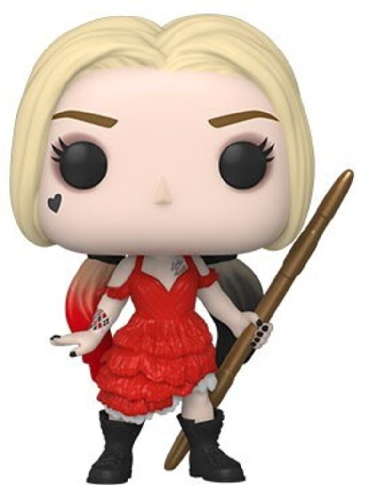 - FUNKO POP! MOVIES: The Suicide Squad- Harley (Damaged Dress)