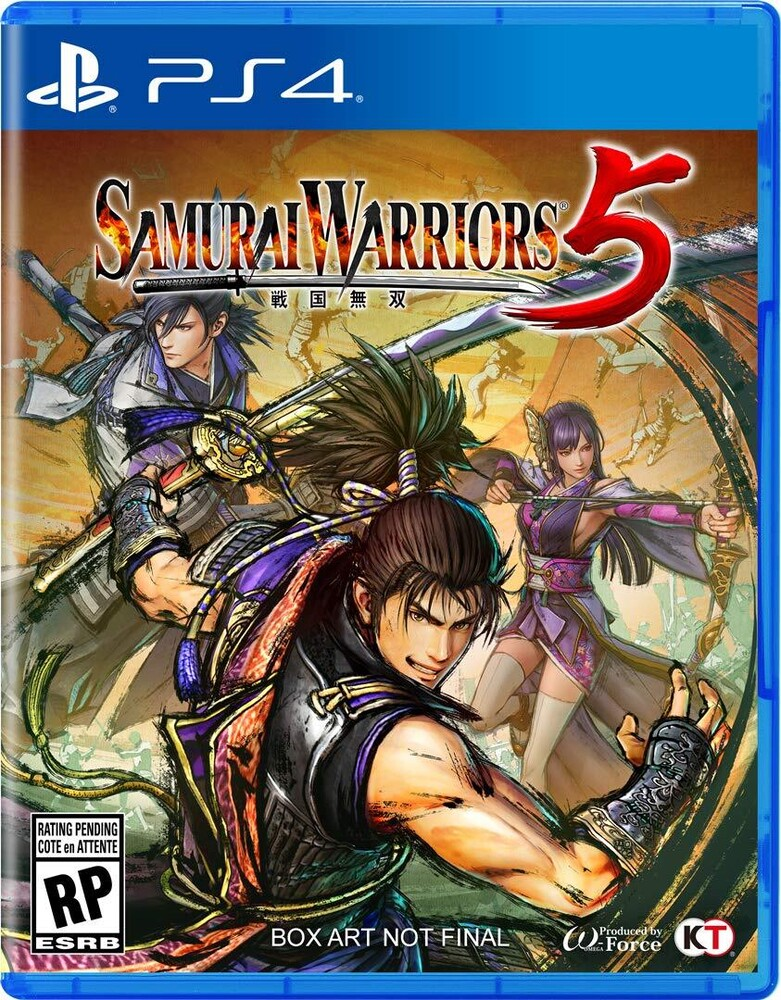 - Ps4 Samurai Warriors 5