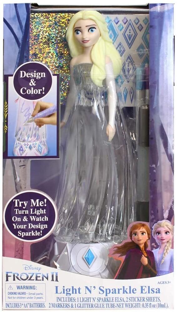 - Tara Toys - Frozen 2 Light N' Sparkle Elsa (Disney)
