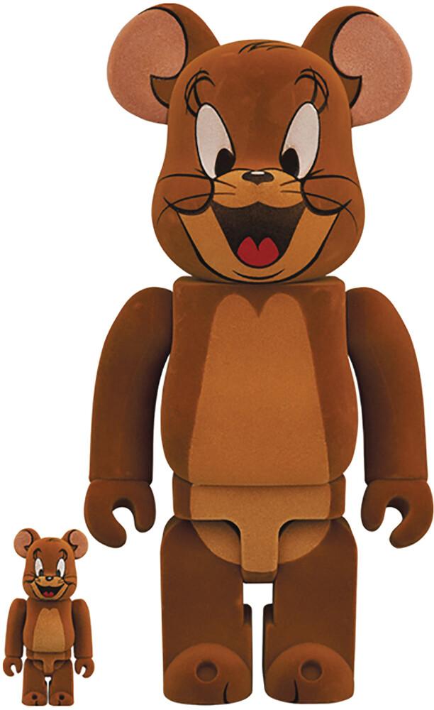 - Tom & Jerry Jerry Flocky 100% & 400% Bea 2pk (Fig)