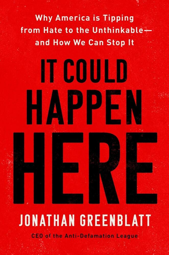 Jonathan Greenblatt - It Could Happen Here (Hcvr)