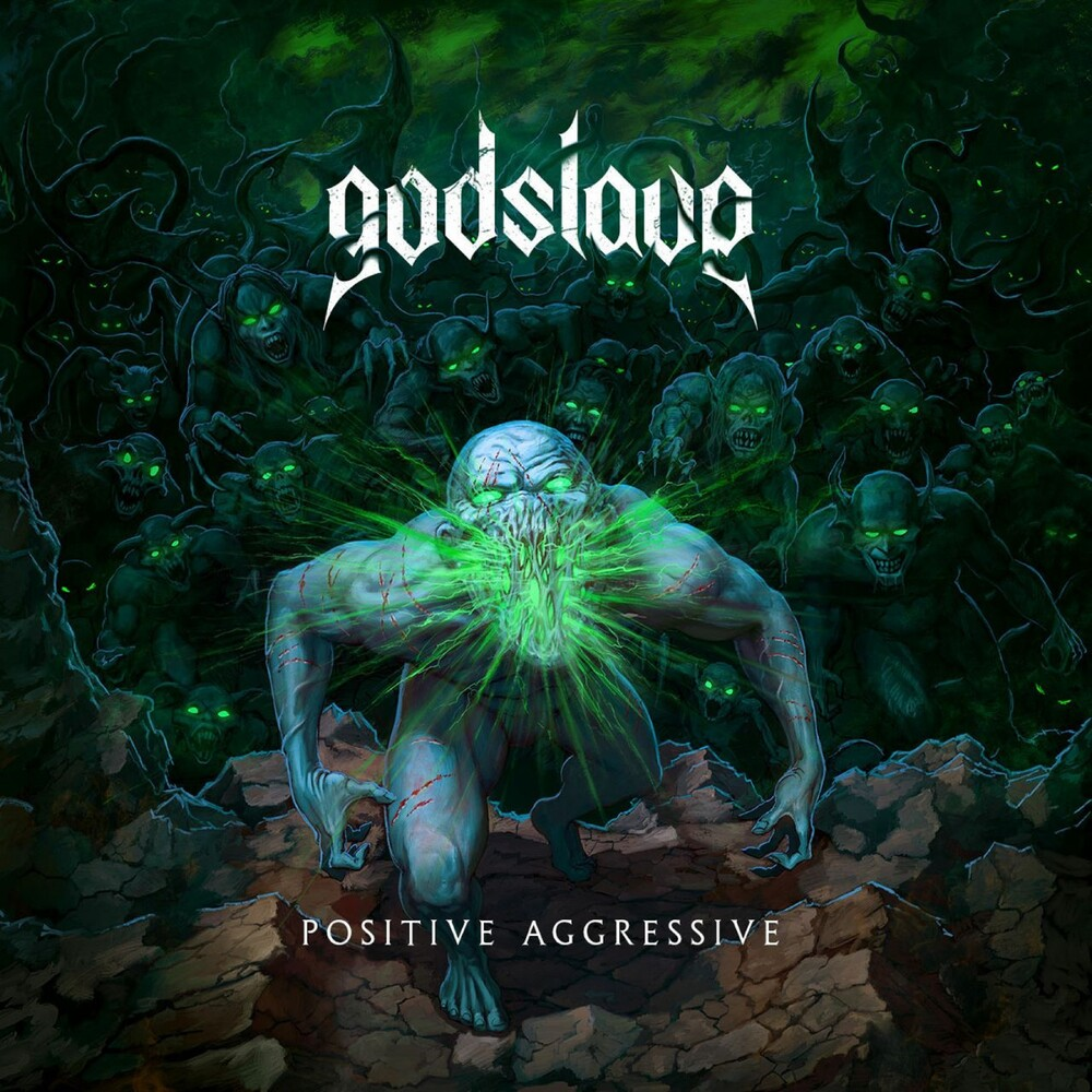 Godslave - Positive Aggressive (Transparent Purple Vinyl)