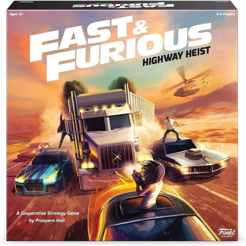 - Fast & Furious - Highway Heist Game (Vfig)