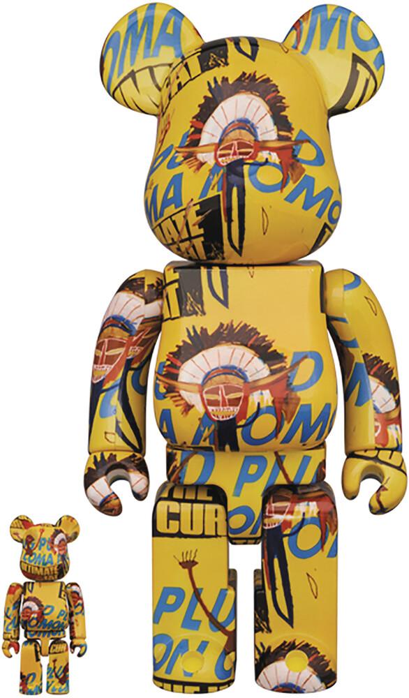 - Andy Warhol X Jean Michel Basquiat 3 100% & 400%