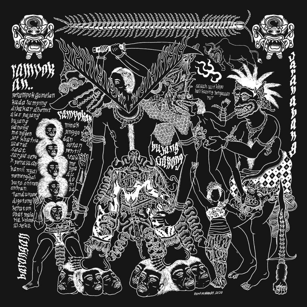 Raja Kirik - Rampokan (White Vinyl) [Colored Vinyl] (Wht)