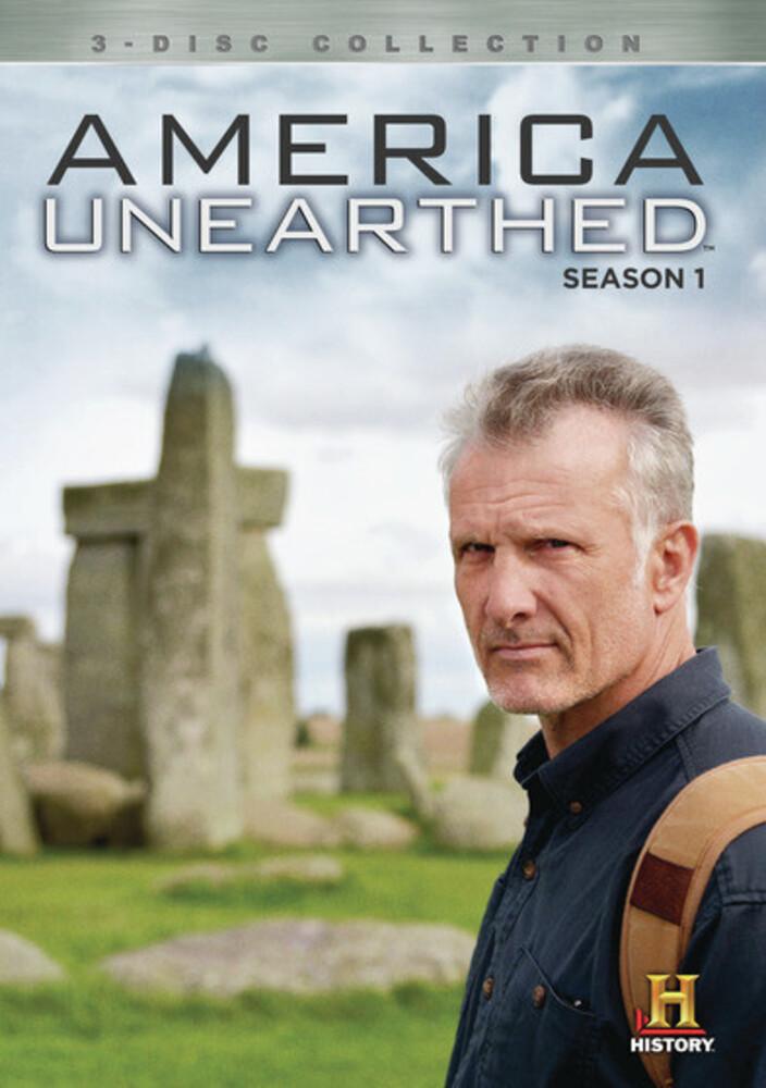 America Unearthed: Season 1 - America Unearthed: Season 1 (3pc) / (Mod 3pk)