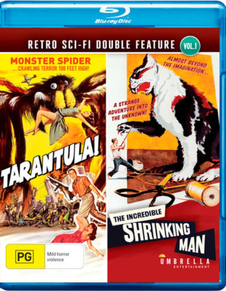 Tarantula / Incredible Shrinking Man - Tarantula / Incredible Shrinking Man [All-Region/1080p]