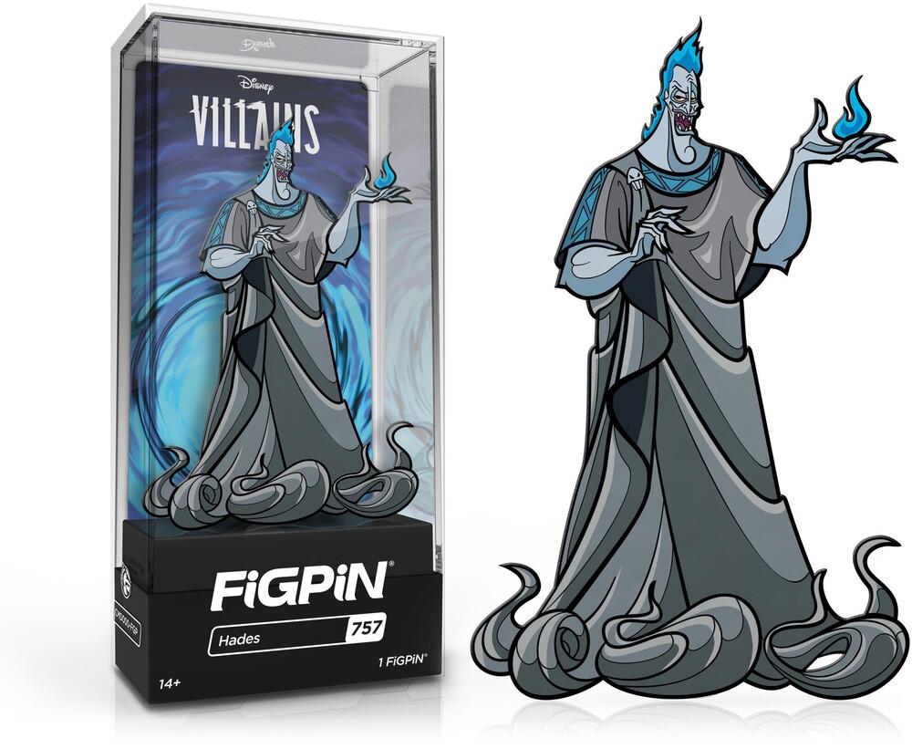 Figpin Disney Villains Hades #757 - Figpin Disney Villains Hades #757 (Clcb) (Pin)