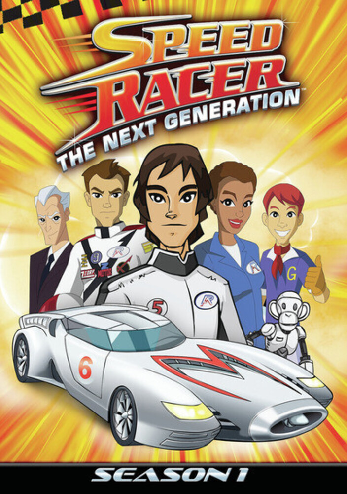 Speed Racer the Next Generation: Season 1 - Vol 1 - Speed Racer The Next Generation: Season 1, Vol. 1