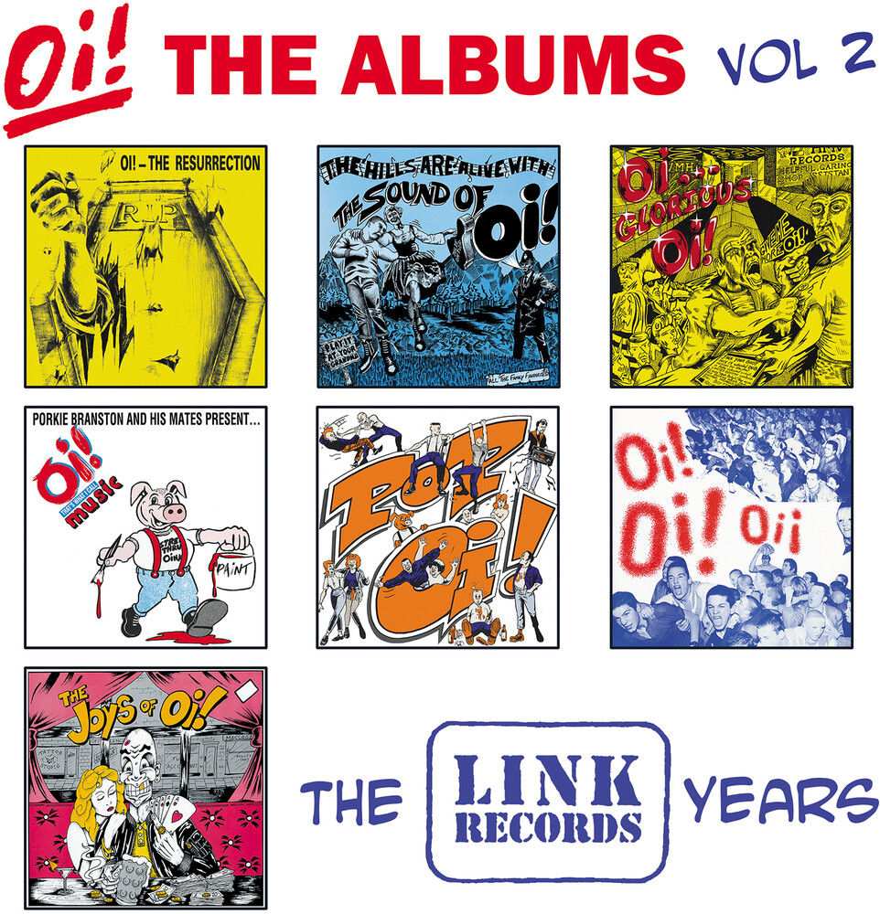 Oi! The Albums: Vol 2 - The Link Years / Various - Oi! The Albums: Vol 2 - The Link Years / Various