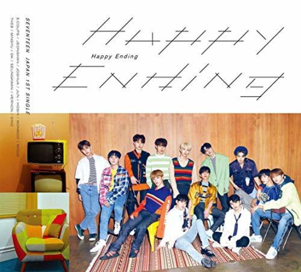 Seventeen - Happy Ending (Version A) (Phob) (Jpn)