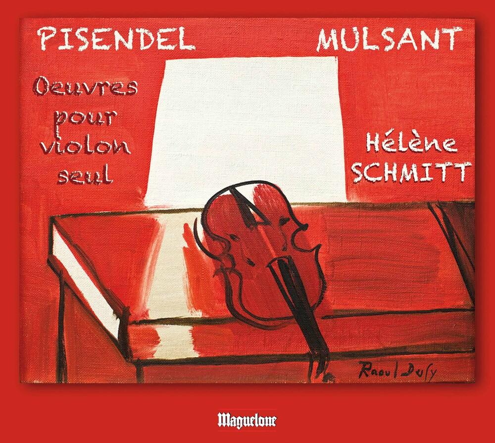 Helene Schmitt - Sonates Violon Seul