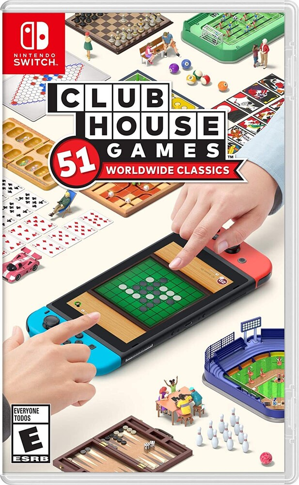 Swi Clubhouse Games: 51 Worldwide Classics - Clubhouse Games: 51 Worldwide Classics