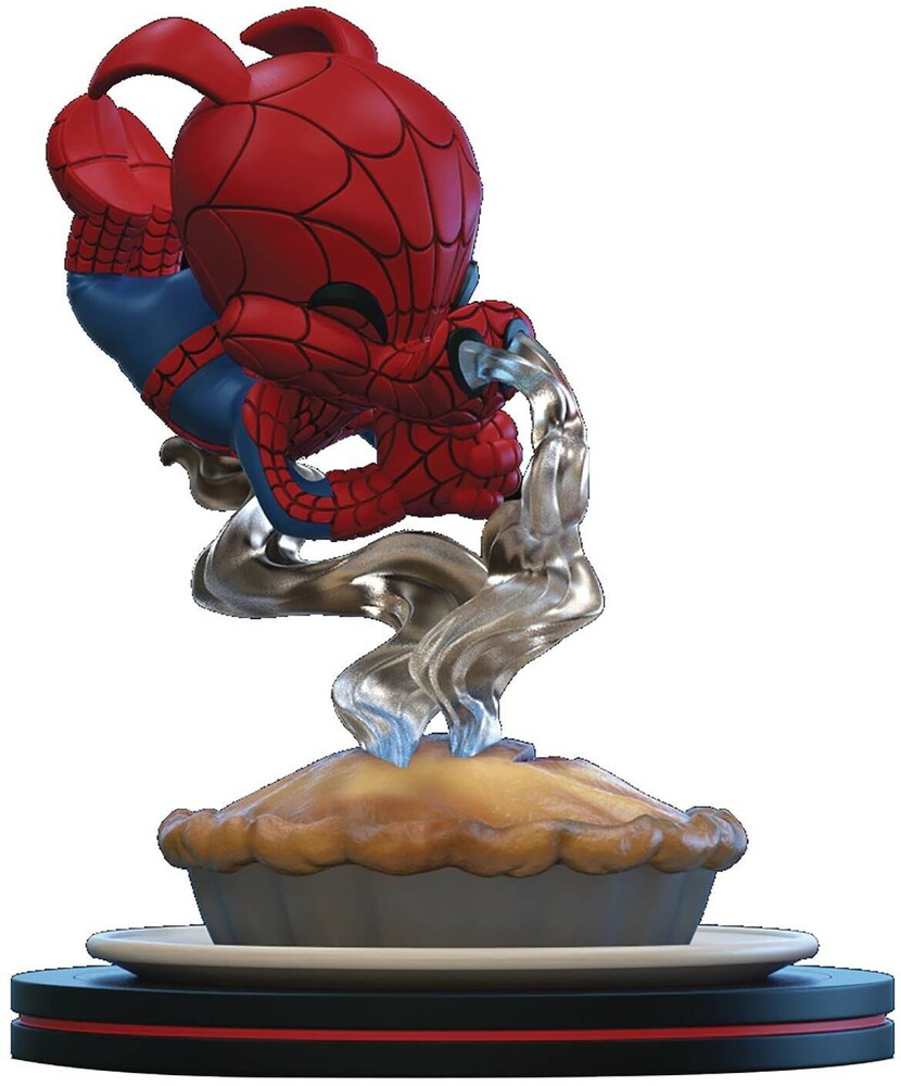 Spider-Ham Q-Fig Diorama - Quantum Mechanix QMx - Spider-Man: Miles Morales Q-Fig Elite Diorama