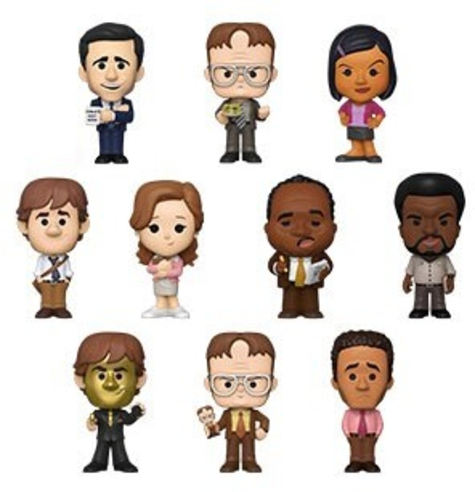 Funko Mystery Mini: - FUNKO MYSTERY MINI: The Office (ONE Random Mystery Mini Figure Per Purchase)
