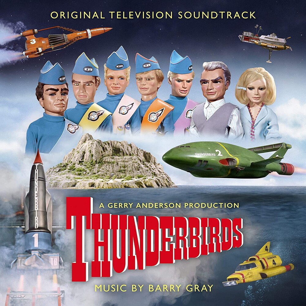 Barry Gray Blue Colv Gate - Thunderbirds / O.S.T. (Blue) [Colored Vinyl] (Gate)