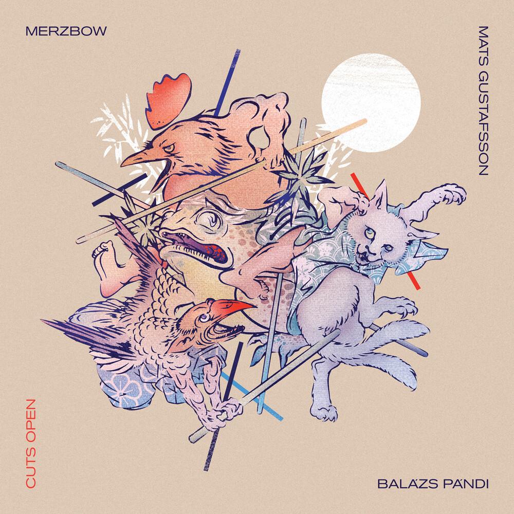 Merzbow / Mats Gustafsson / Pandi,Balazs - Cuts Open (Gate) (Purp)