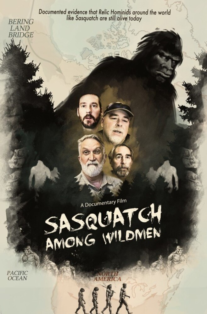 Sasquatch Among Wildmen - Sasquatch Among Wildmen DVD
