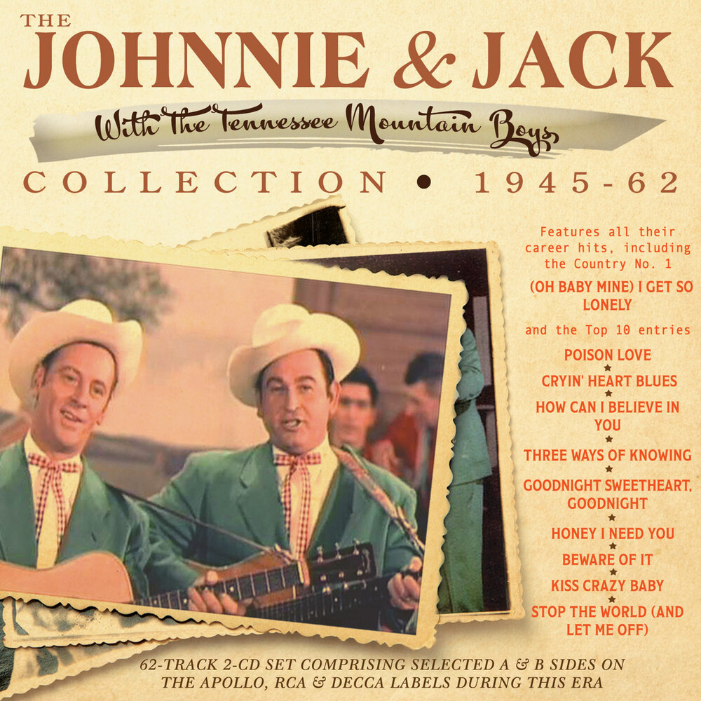 Johnnie & Jack - Johnnie & Jack Collection 1945-62