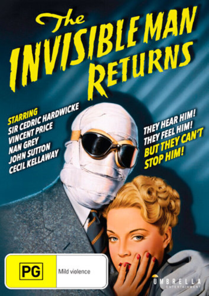 Invisible Man Returns - Invisible Man Returns / (Aus Ntr0)