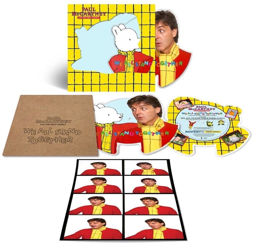 Paul McCartney And The Frog Chorus - We All Stand Together [Limited Edition Shaped Picture Disc 7in Vinyl]