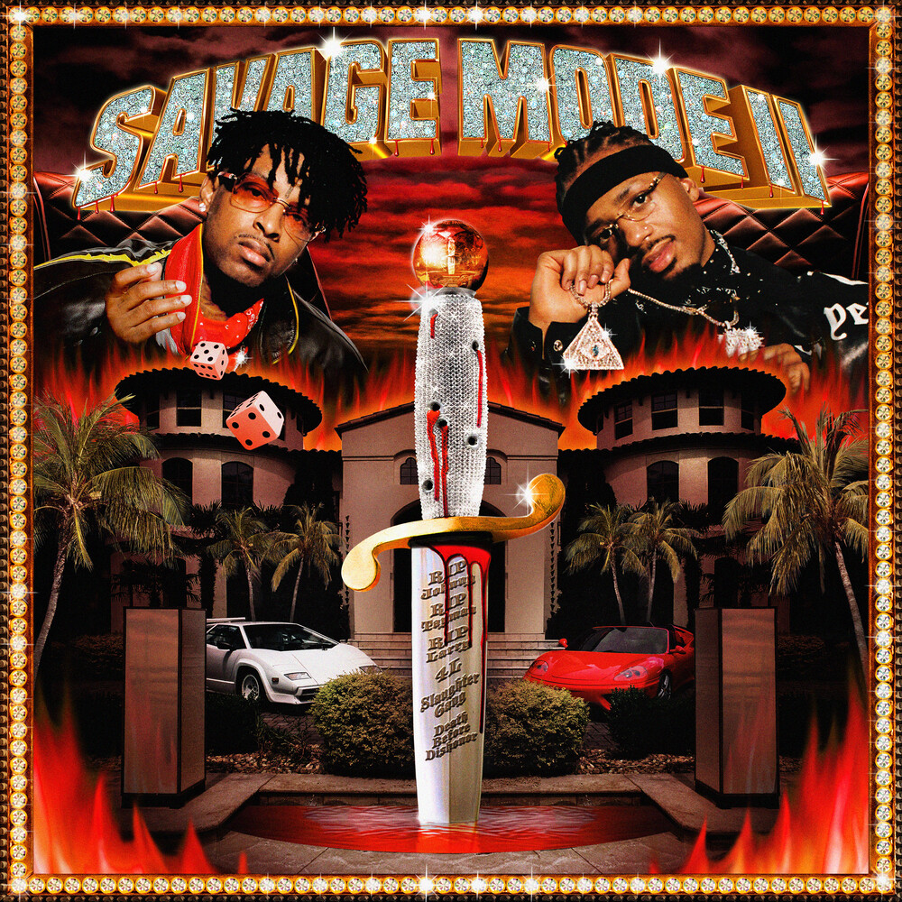 21 Savage / Metro Boomin - SAVAGE MODE II [Red LP]