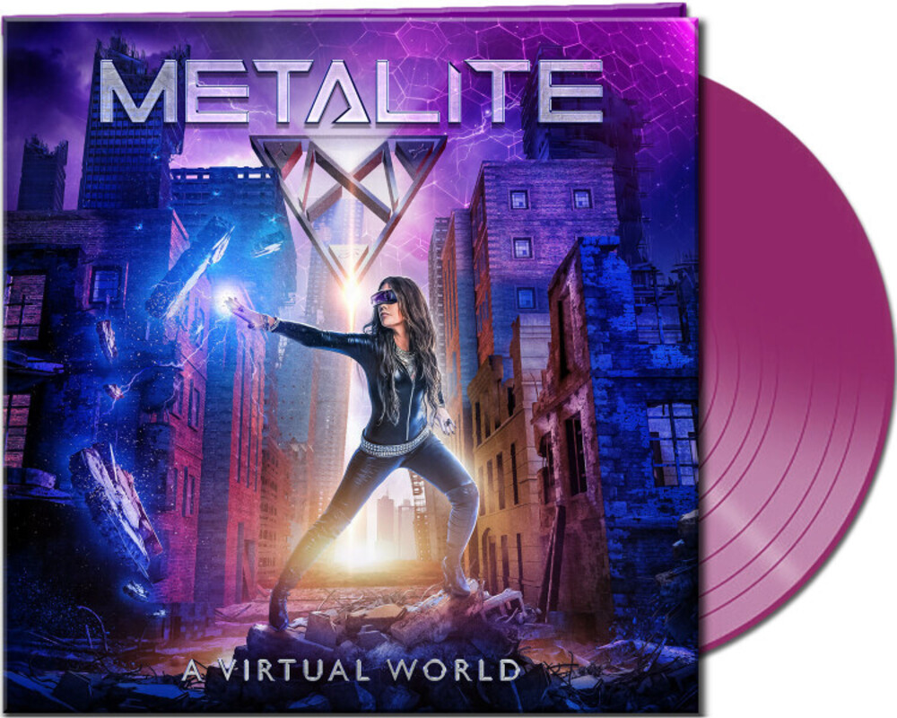 Metalite - Virtual World [Indie Exclusive] (Clear Purple Vinyl) [Clear Vinyl]