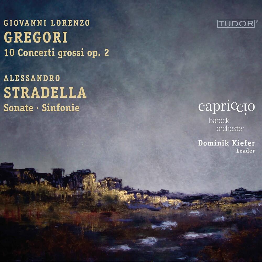 Gregori / Capriccio Barockorchester / Kiefer - 10 Concerti Grossi 2