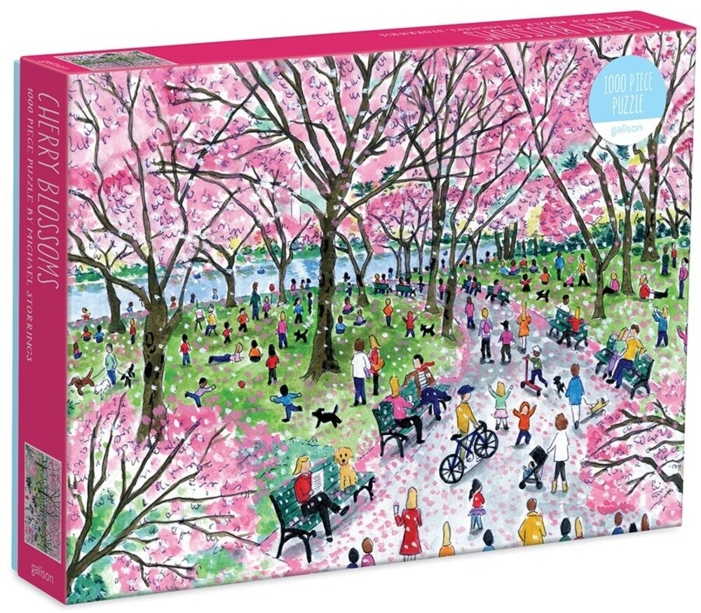 - Michael Storrings Cherry Blossoms 1000 Piece Puzzle