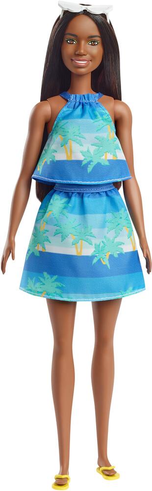 - Mattel - Barbie Loves the Ocean, Ocean Print Top and Skirt