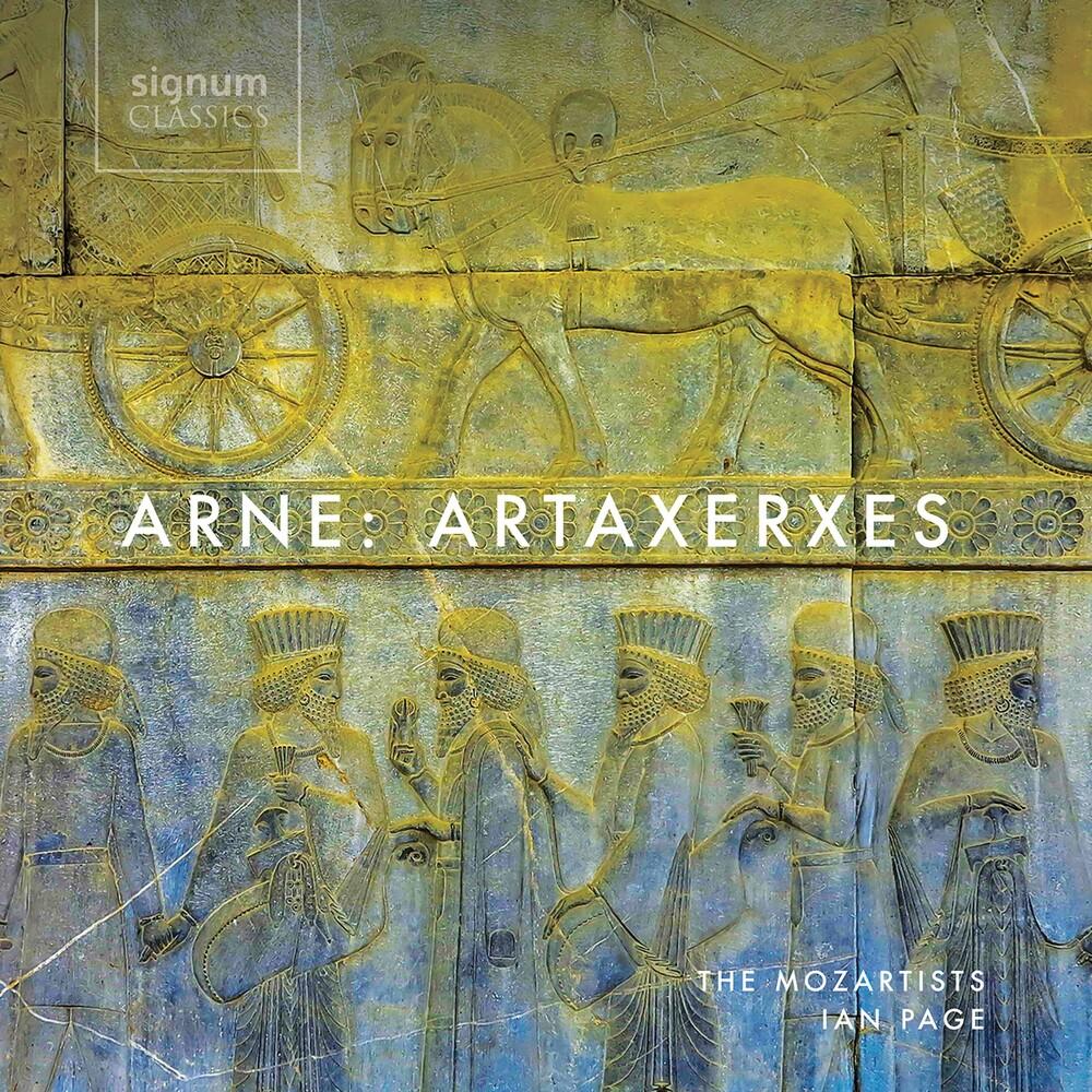 Arne / Mozartists / Page - Artaxerxes