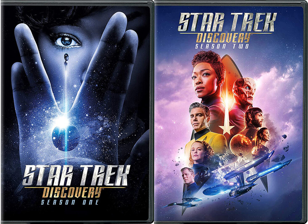 - Star Trek: Discovery - Seasons 1 & 2 (4pc) / (Box)