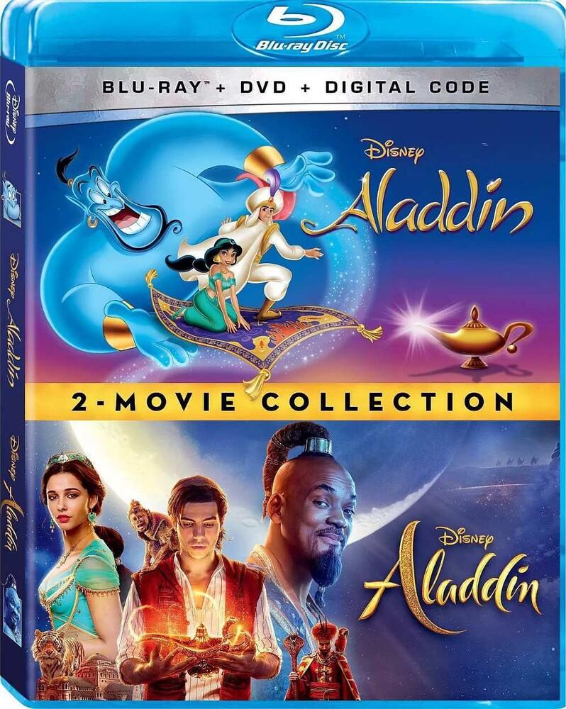 - Aladdin (Live Action) / Aladdin (Animated) (4pc)