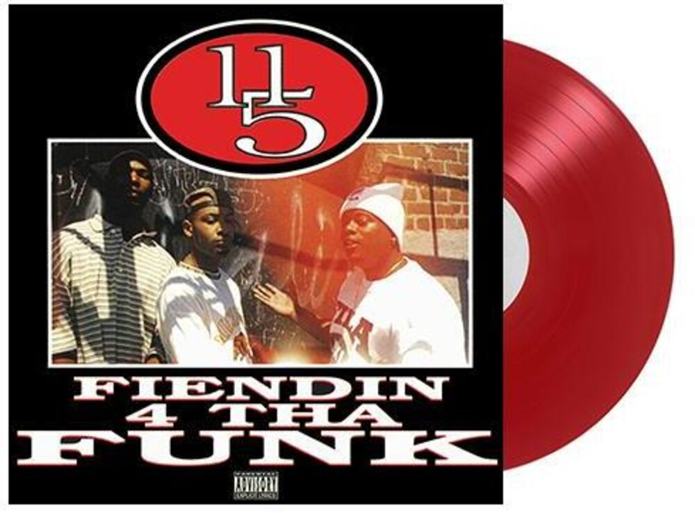 - 11/5 / Fiendin' 4 tha Funk (Translucent Red Vinyl)