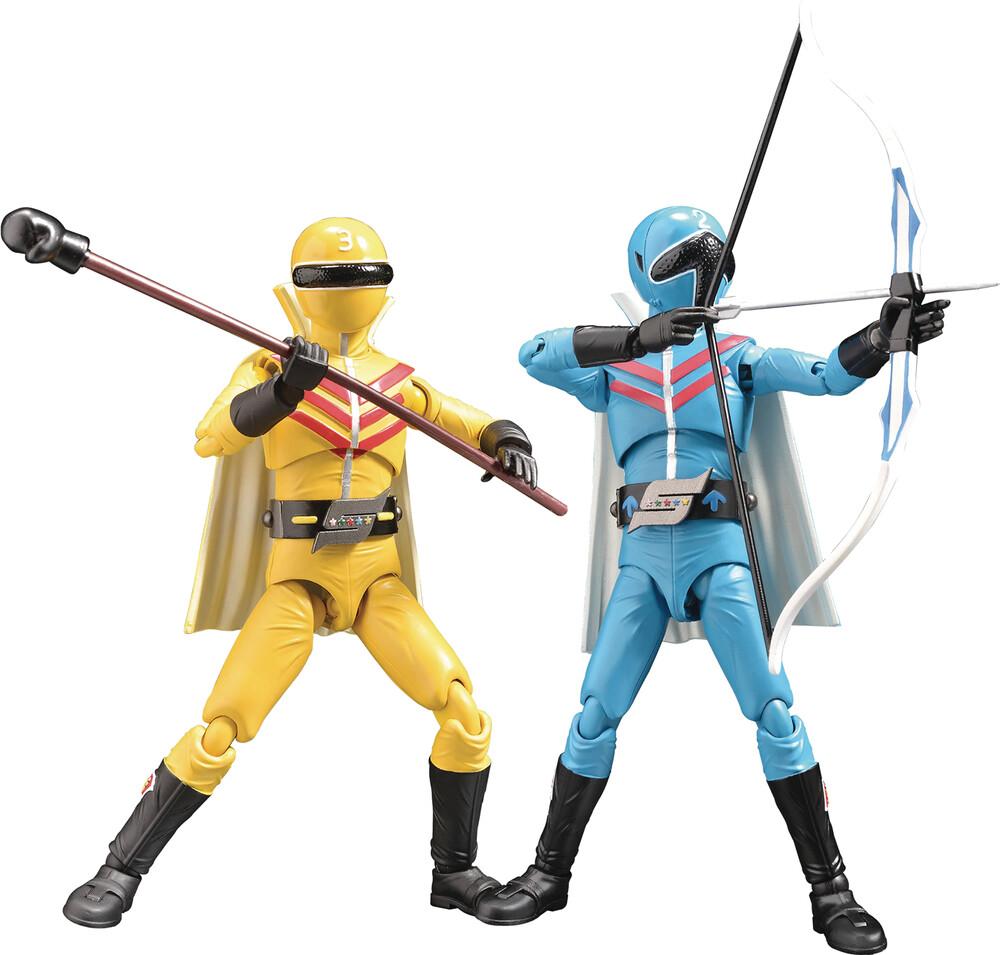 - Hero Action Figure Haf Aoranger & Kiranger (Clcb)