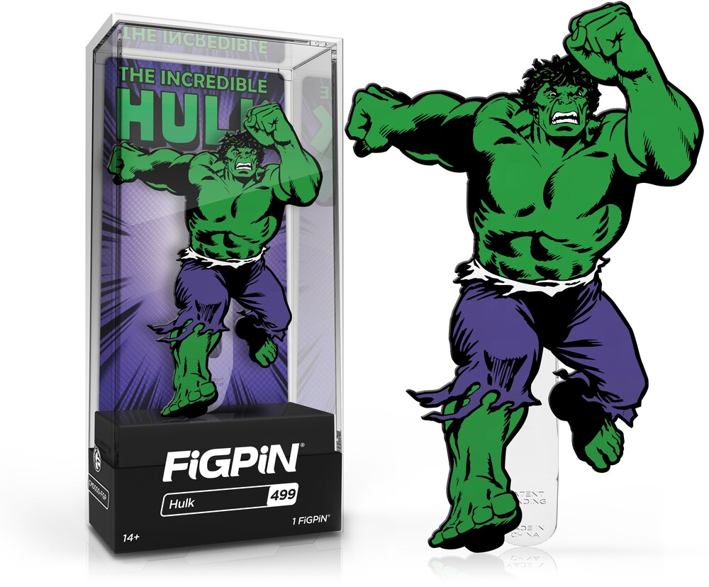 Figpin Marvel Classic Comics Hulk #499 - Figpin Marvel Classic Comics Hulk #499 (Clcb)