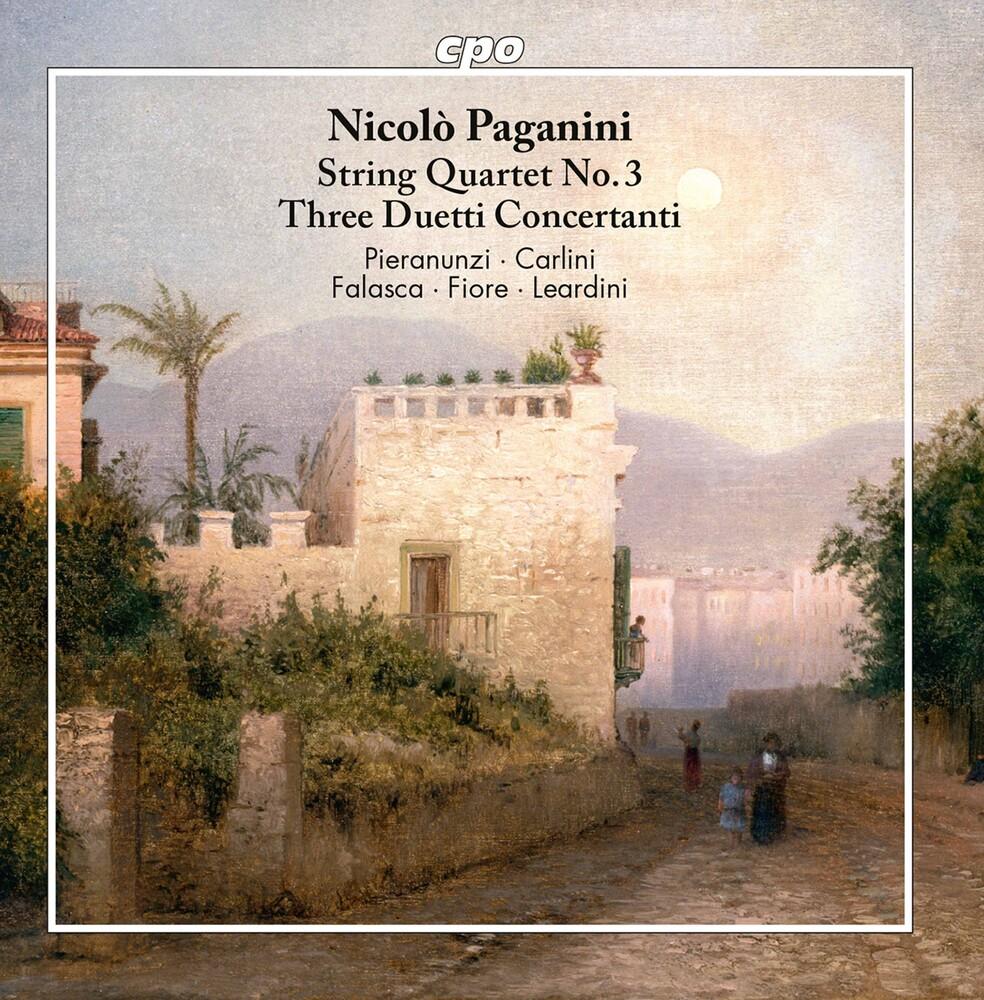Paganini - String Quartet 3