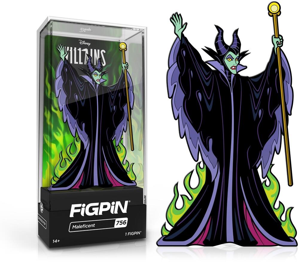 Figpin Disney Villains Maleficent #756 - Figpin Disney Villains Maleficent #756 (Clcb)