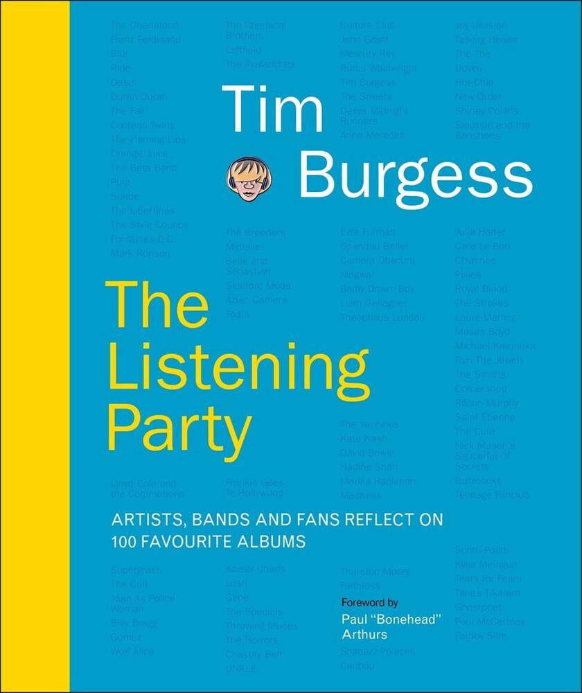 Tim Burgess  / Paphhides,Pete / Arthur,Paul - Listening Party (Hcvr)