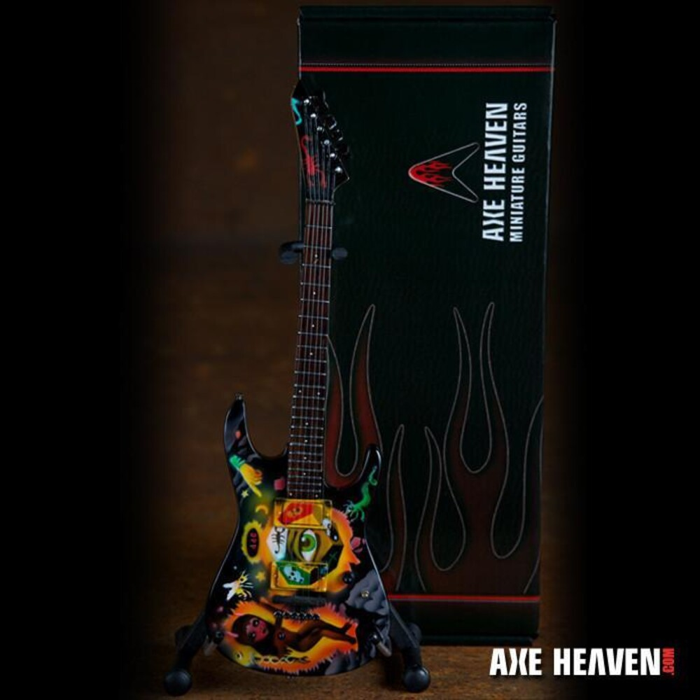 Kirk Hammett Metallica Cult Eye Mini Guitar - Kirk Hammett Metallica Cult Eye Mini Guitar (Clcb)
