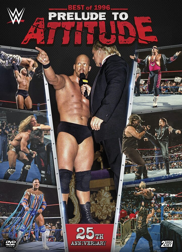 WWE: Best of 1996 - Prelude to Attitude - Wwe: Best Of 1996 - Prelude To Attitude (2pc)