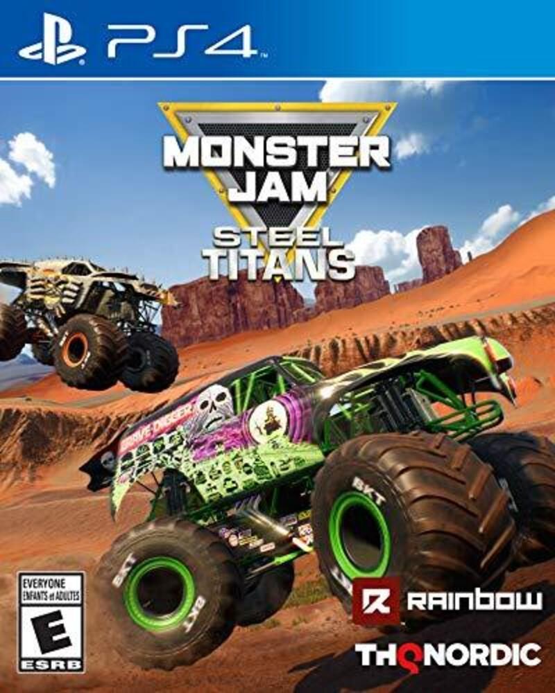 - Monster Jam Steel Titans for PlayStation 4