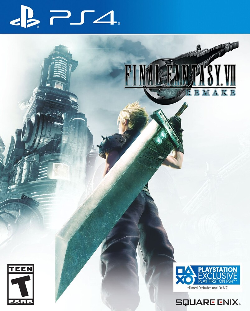 Ps4 Final Fantasy VII Remake - Final Fantasy VII Remake for PlayStation 4